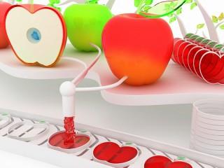 Собирать пазл Candy Apple онлайн