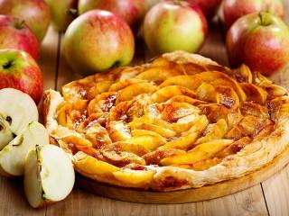 Собирать пазл Apple pie онлайн