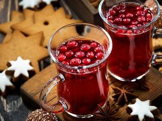 Собирать пазл Berry mulled wine онлайн