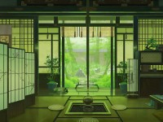 Собирать пазл Japanese interior онлайн