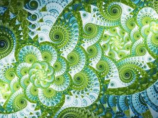 Собирать пазл Bright green онлайн