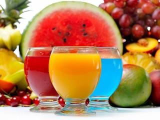 Собирать пазл Bright drinks онлайн