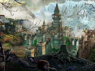Собирать пазл Castle in much онлайн