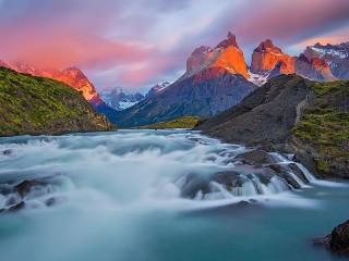 Собирать пазл Reserve in Chile онлайн