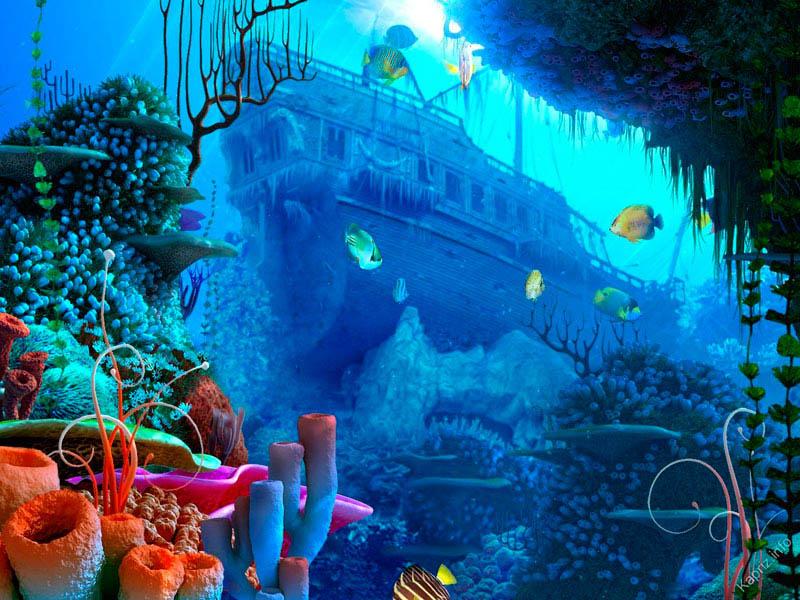 Rompecabezas Recoger rompecabezas en línea - the sunken ship