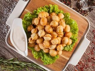 Собирать пазл Fried dumplings онлайн