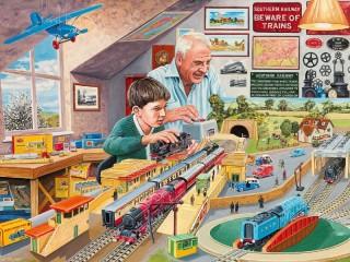 Собирать пазл Railway 1 онлайн