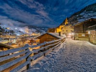 Собирать пазл Winter in Austria онлайн