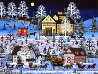 Собирать пазл Winter games онлайн