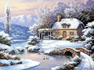 Собирать пазл Winter's tale онлайн