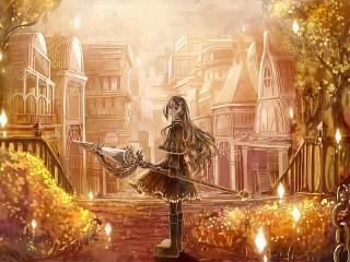Собирать пазл Golden city онлайн