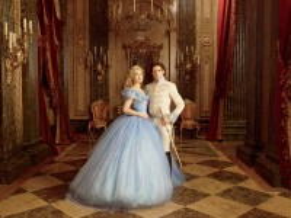 Собирать пазл Cinderella and the Prince онлайн