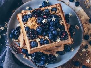 Собирать пазл Star waffles онлайн