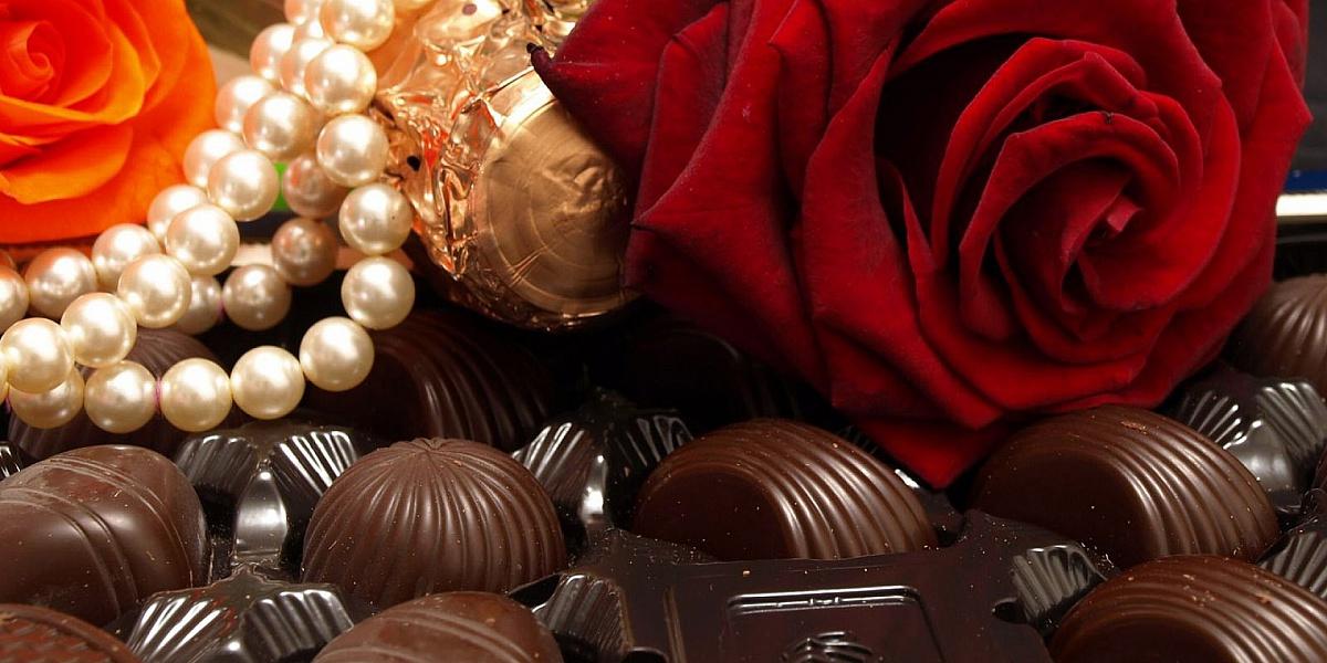 Rompecabezas Recoger rompecabezas en línea - Roza v shokolade